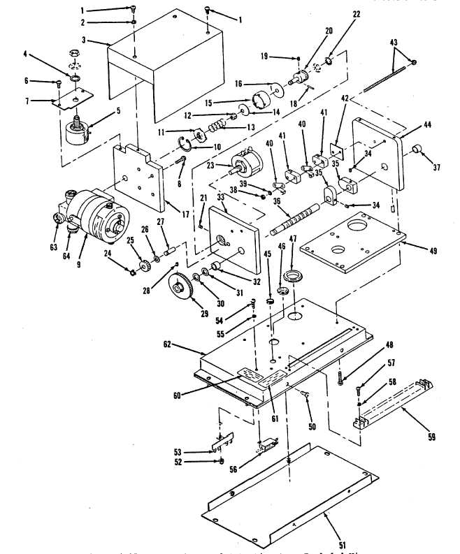 Figure 4-15. Motor Operated Potentiometer, Exploded View