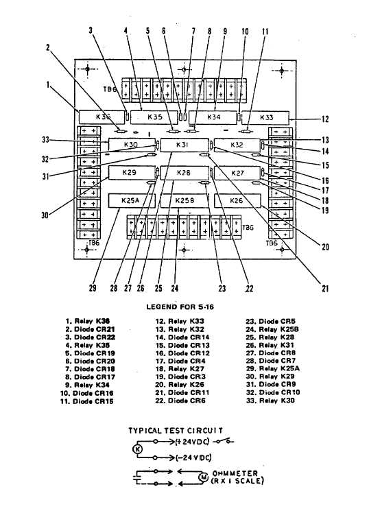 Figure 5-16. Annunciator Control Assembly, TB6 (Sheet 1 of 2)