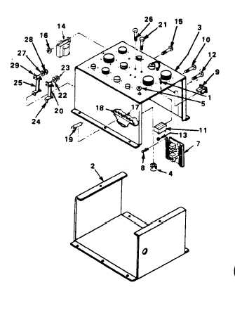 REPLACE FAULTY COMPONENT OF SPECIAL RELAY ASSEMBLY