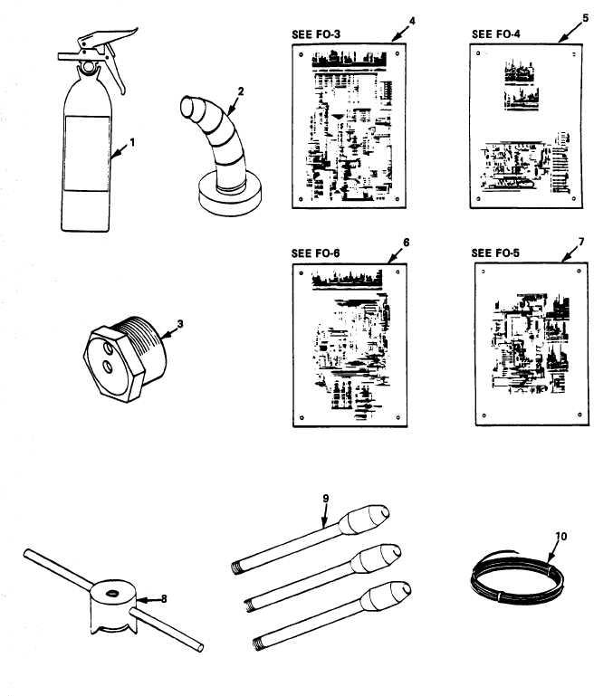 Figure F-27. Accessories and Schematics