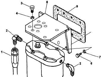 Figure 4-16. Fuel Strainer and Filter Housing, Disassembly