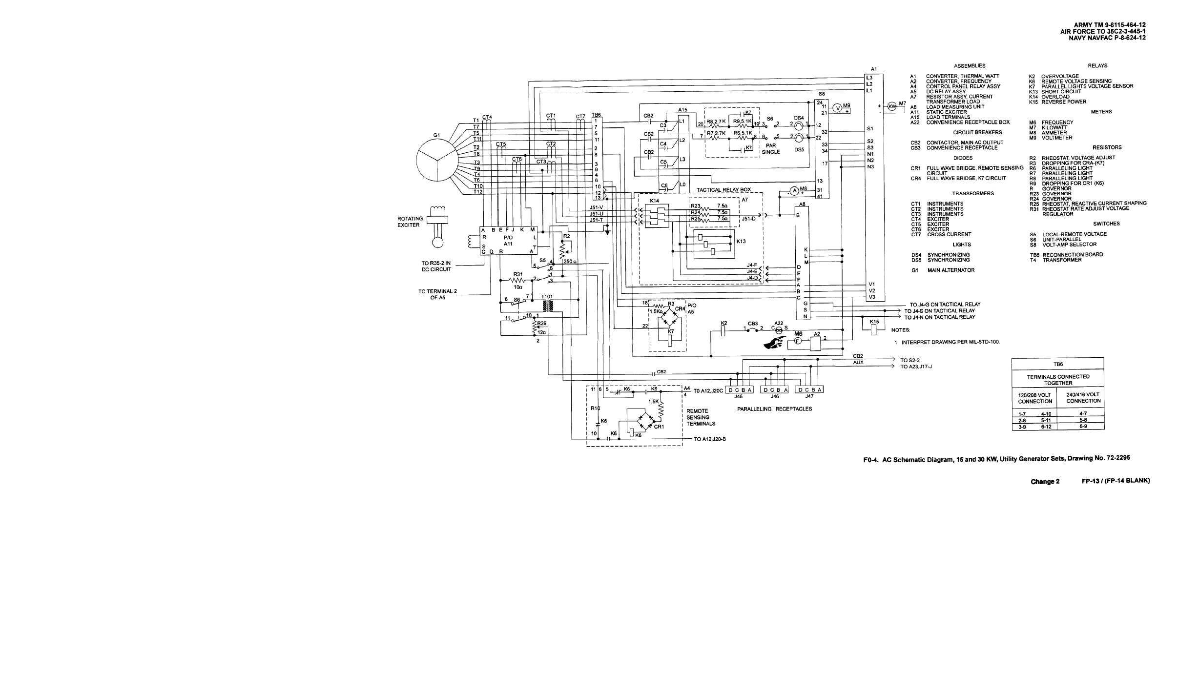 Fo 3 Ac Schematic Diagram 15 And 30 Kw Precise
