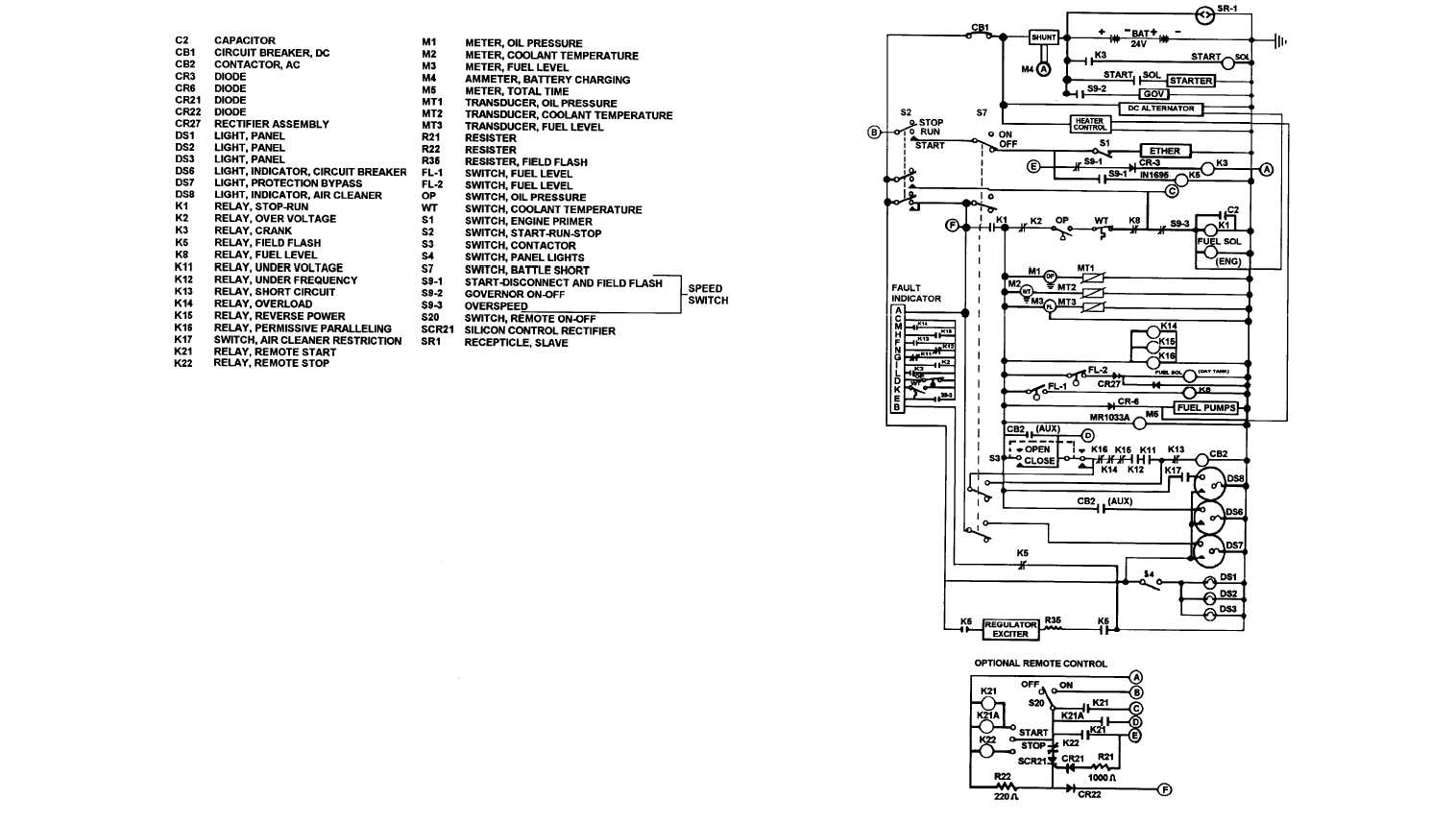 FO-6. DC Schematic