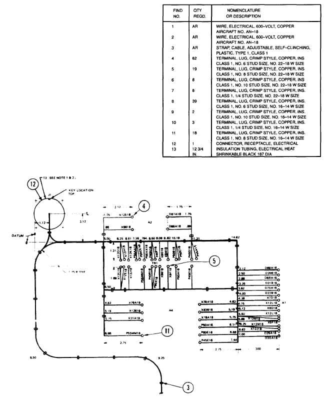 Figure 3-59. Control Cubicle Wiring Harness (Sheet 5 of 6