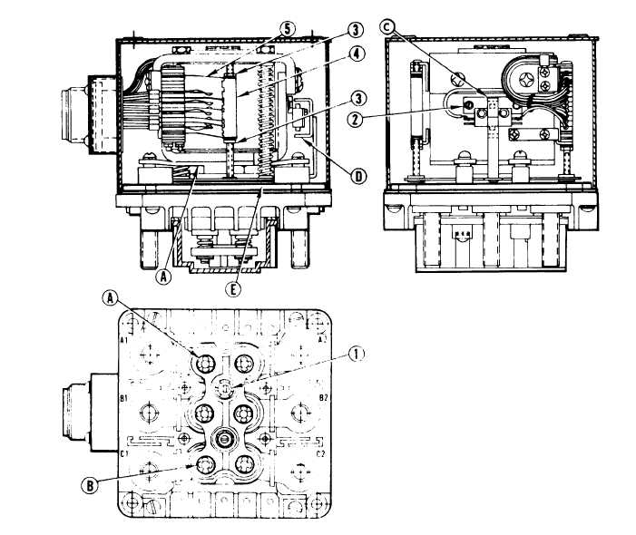 Figure 3-104. Main Load Contactor Adjustments (Type A)