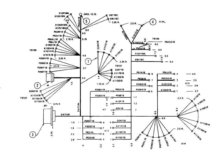 Figure 3-112. Tactical Relay Assembly Wiring Harness