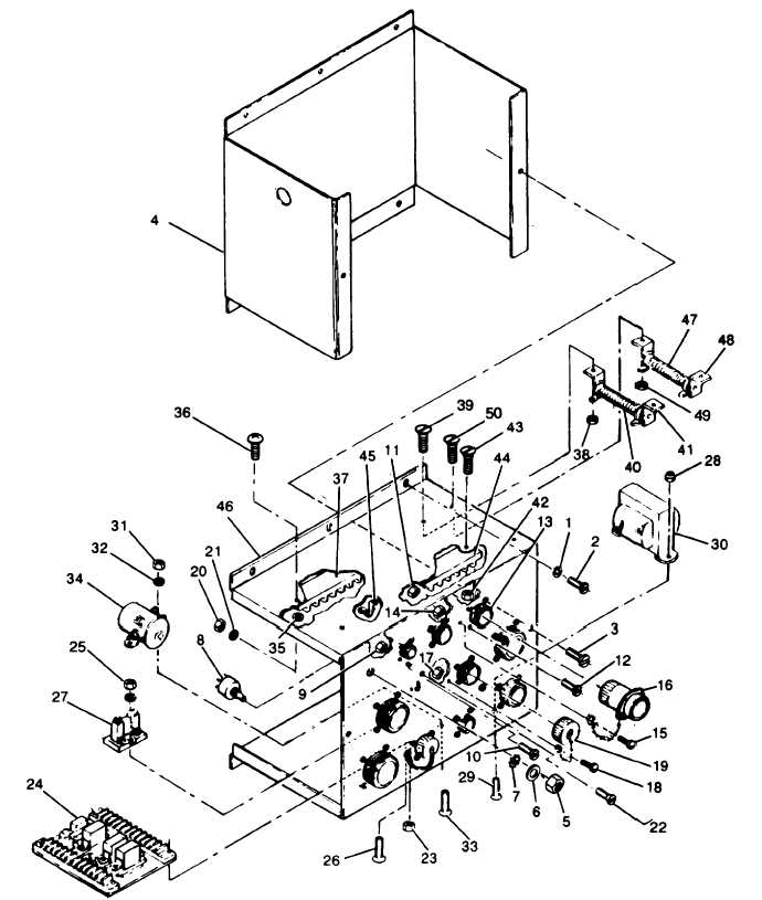 Figure 3-119. Special Relay Assembly, Exploded View (Sheet