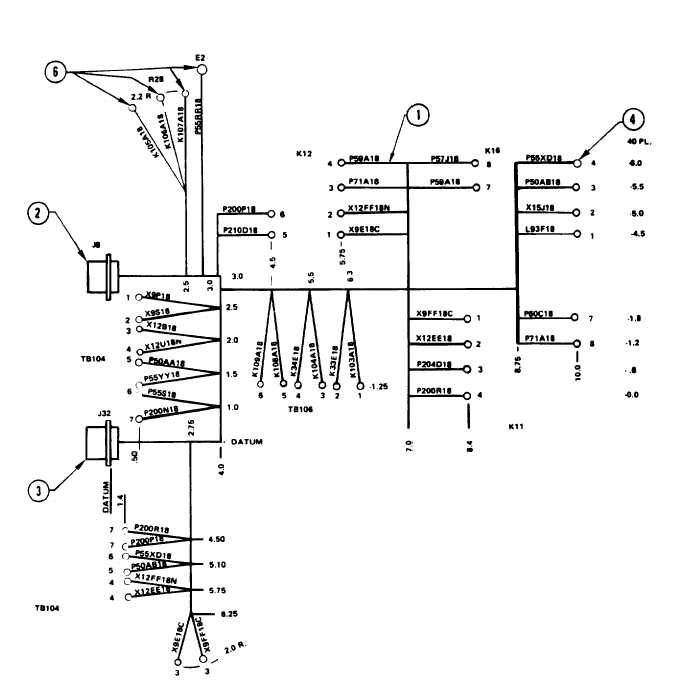 Figure 3-129. 400Hz Precise Relay Assembly Wiring Harness