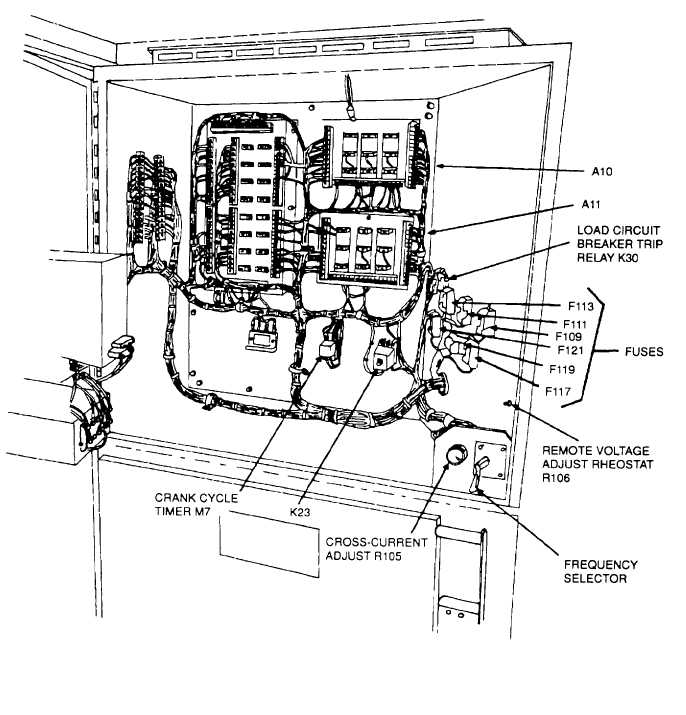Figure 3-26. Inside Upper Cabinet A, Right Interior Wall