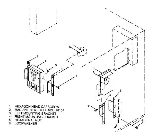 Figure 4-62. Control Room Components and Related Parts