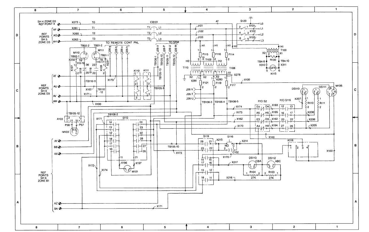 FO-2. AC Schematic Diagram (Sheet 7 of 8)