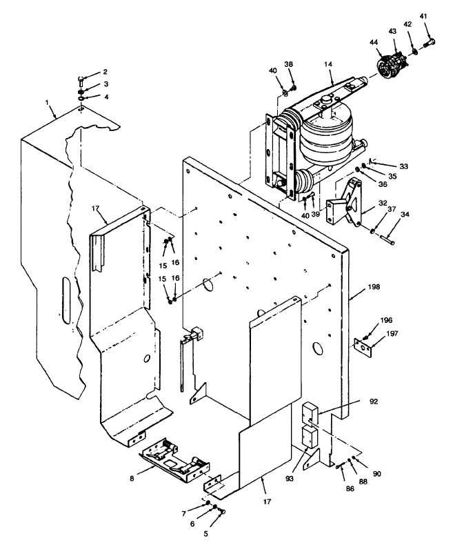 Figure i19. Load Circuit Breaker CB101, Exploded View