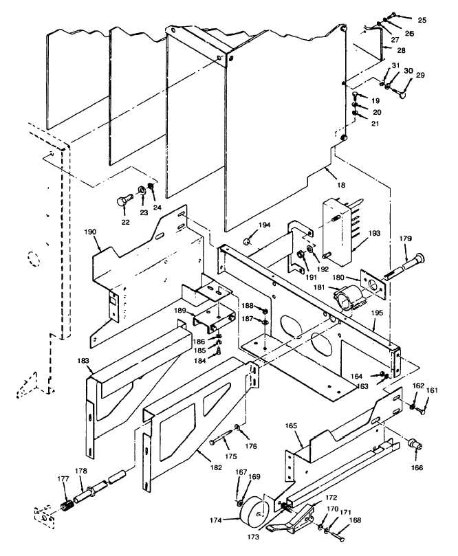 Figure 5-19. Load Circuit Breaker CB101, Exploded View