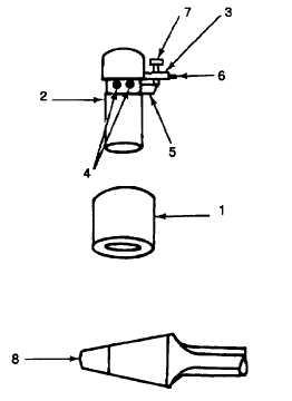 Figure 9-27. Chamfering Connecting Rod Piston Pin Bore