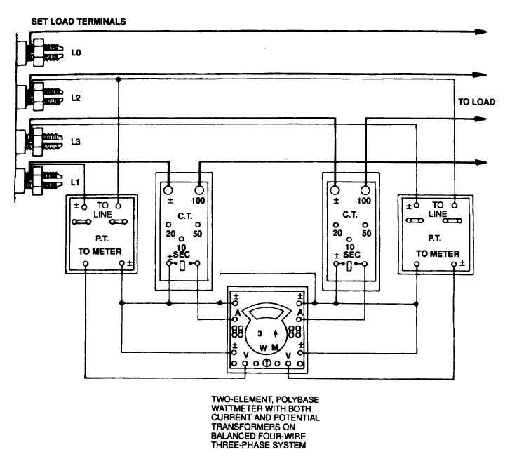 Figure 12-3. Meter Hookup (Sheet 5 of 7)