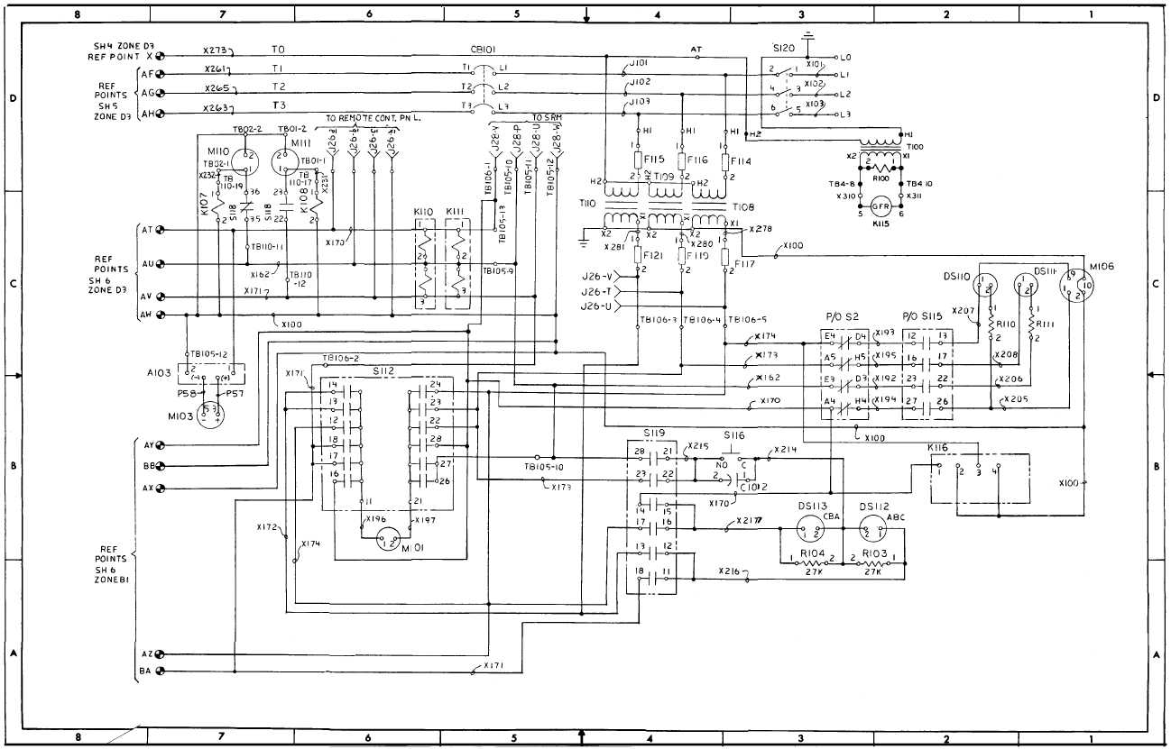 FO-2 AC Schematic Diagram (Sheet 7 of 8)
