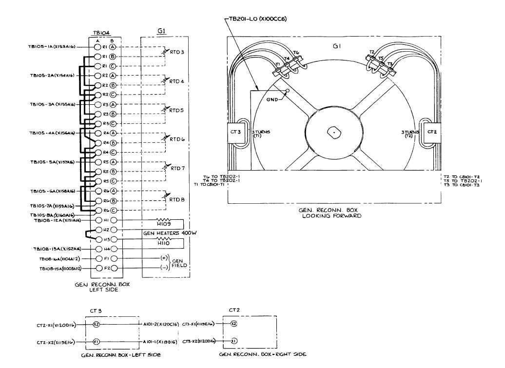 3 phase generator alternator wiring diagram mercruiser trim pump solenoid vb davidforlife de fo 4 connection box rh dieselgenerators tpub com ac