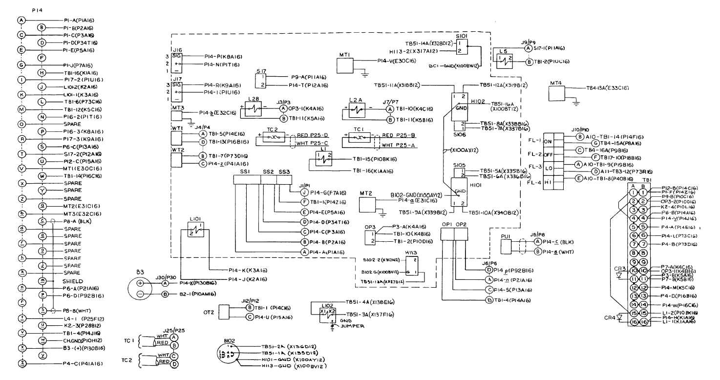 Fo 5 Engine Accessories Wiring Diagram Sheet 2 Of 2