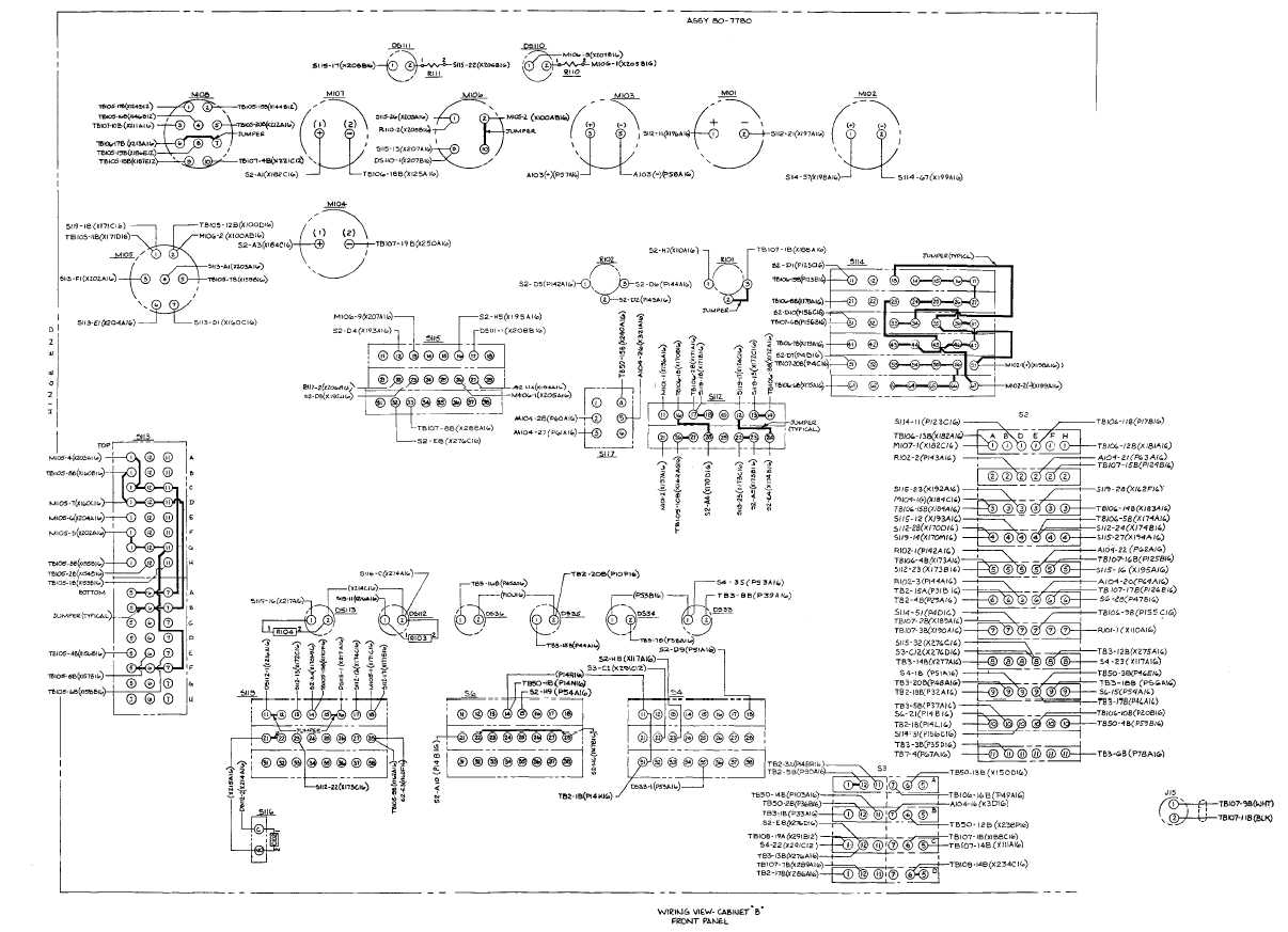 hight resolution of cabinet b door wiring diagram fo 61 fo 62 blank