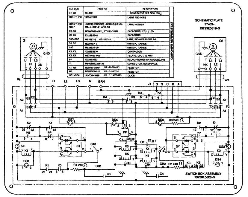 FO-2. POWER PLANT SCHEMATIC