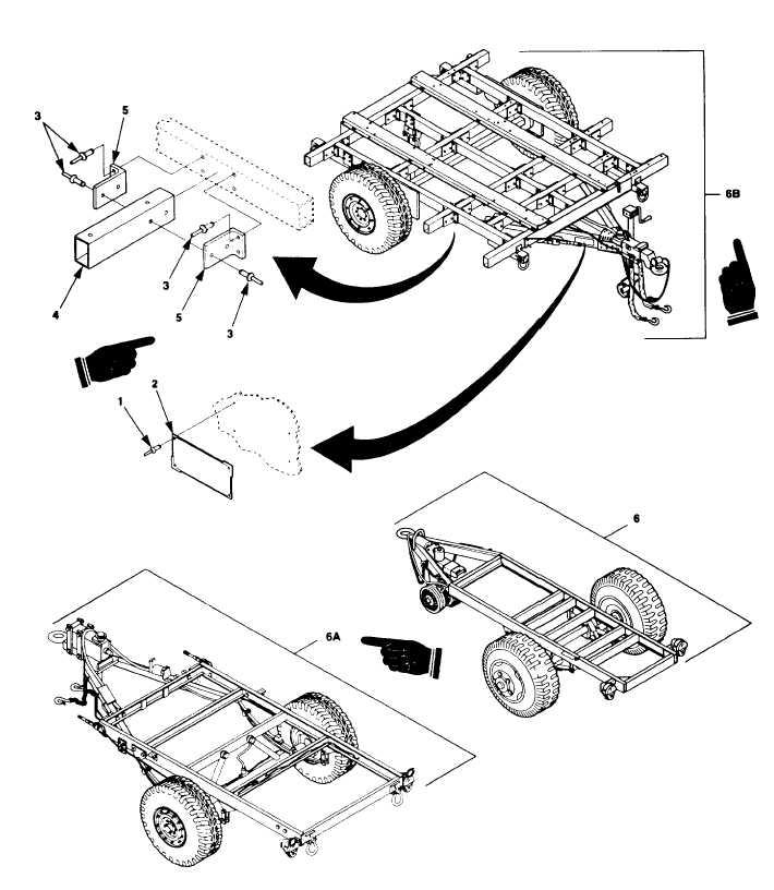 Figure F-29. Power Plant/Power Unit Trailer Assembly.