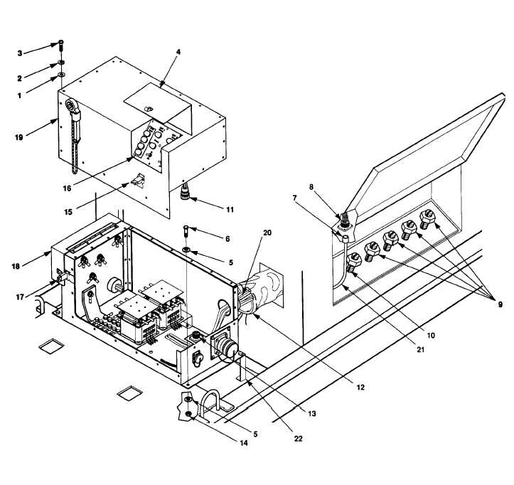 Figure 4-9. Switch Box Assembly Maintenance.