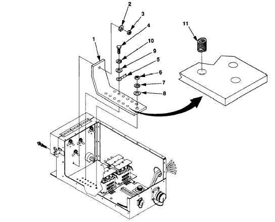 Figure 5-14. Bus Bar Maintenance