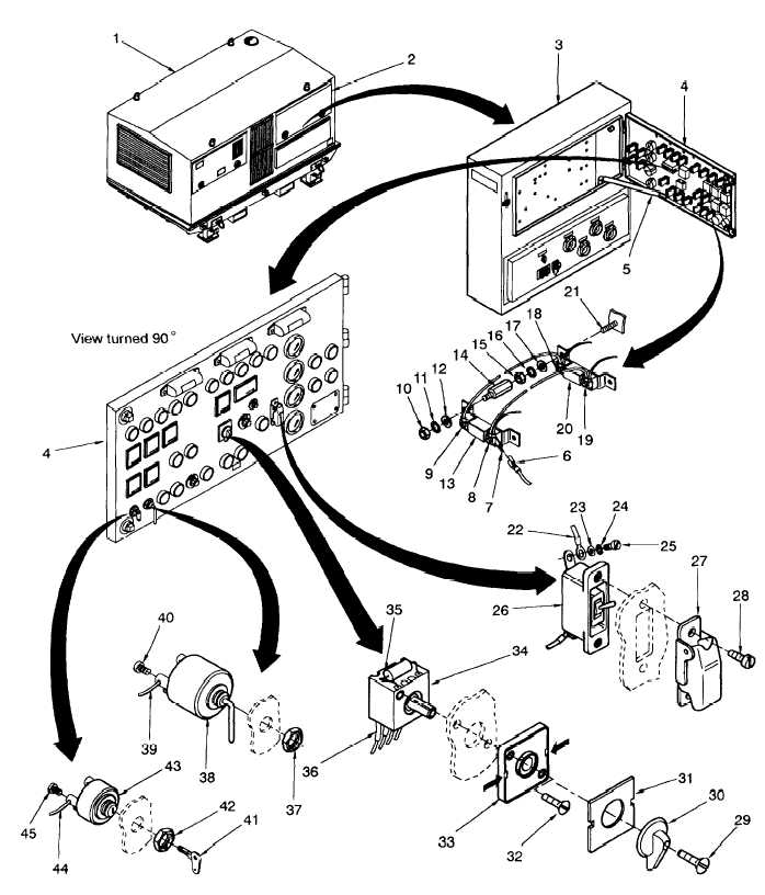 Figure 4-48 Control Cabinet Assembly, Preheating Resistor