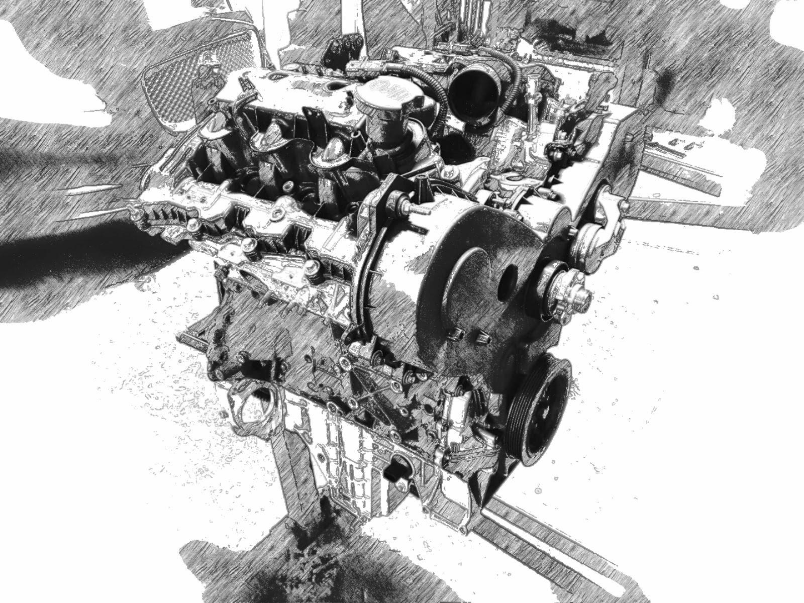 Land Rover 2.7 tdv6 engine