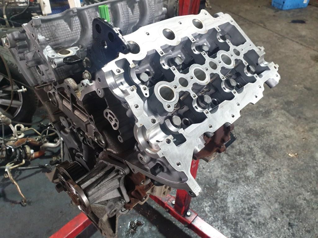 land rover engine rebuild 3.0