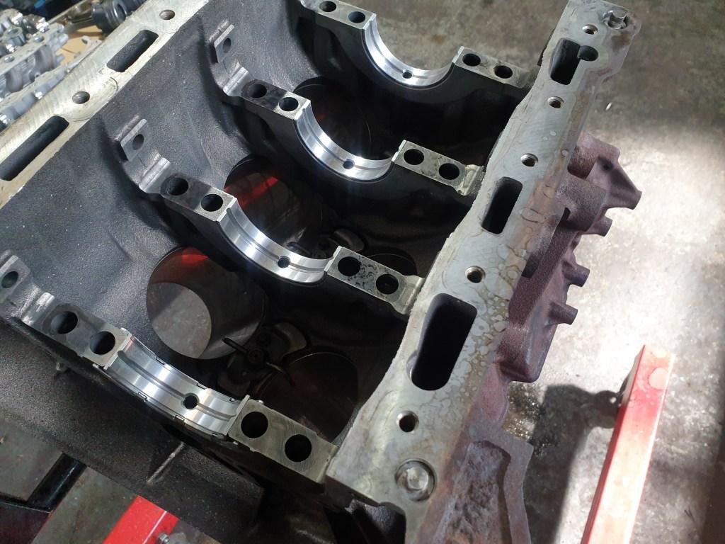 Land Rover 3.0 TDV6 Engine Block