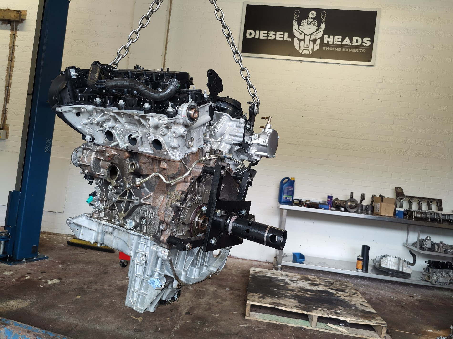 3.0 tdv6 reconditioned engine