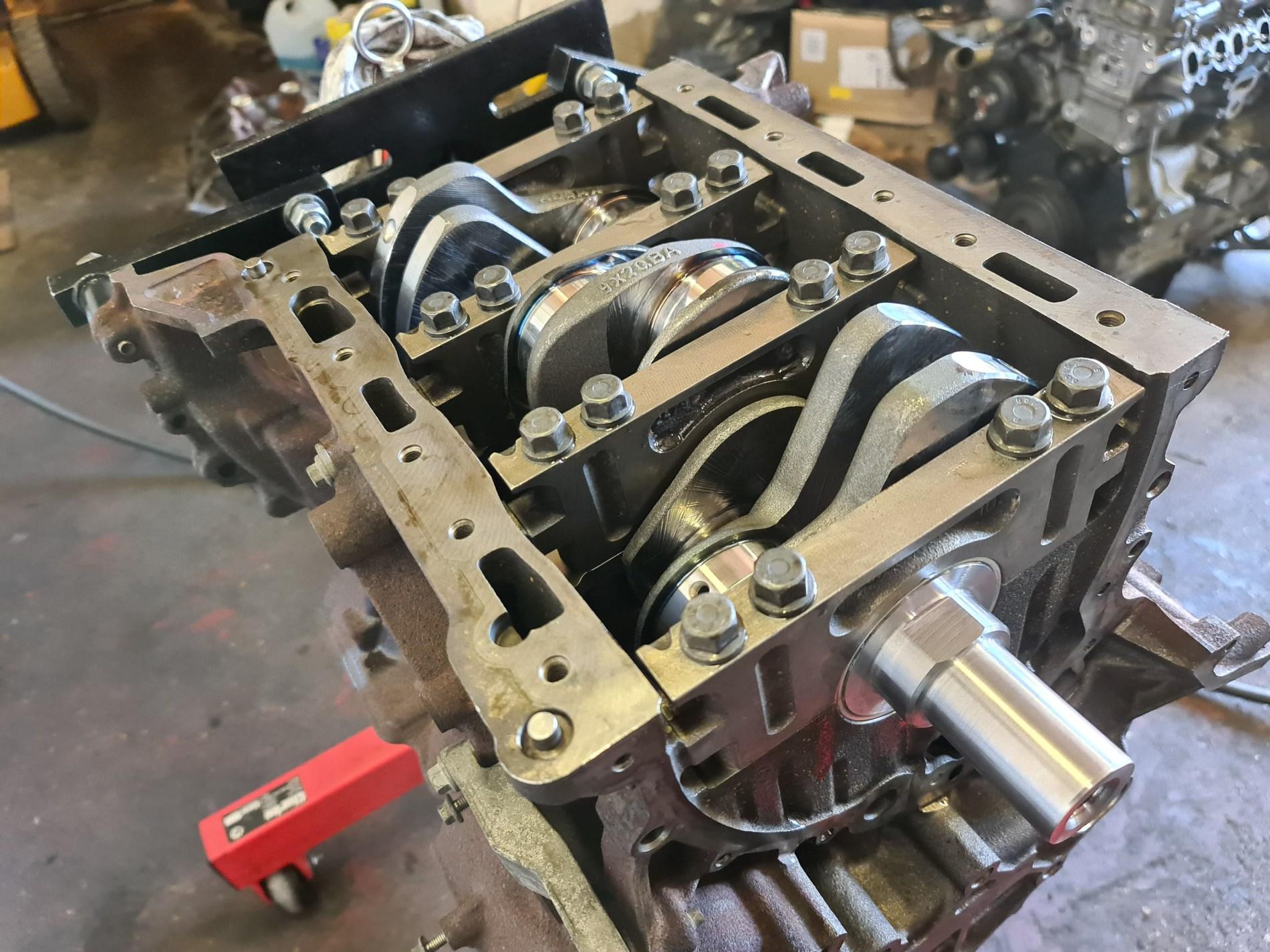 jaguar xf engine rebuild