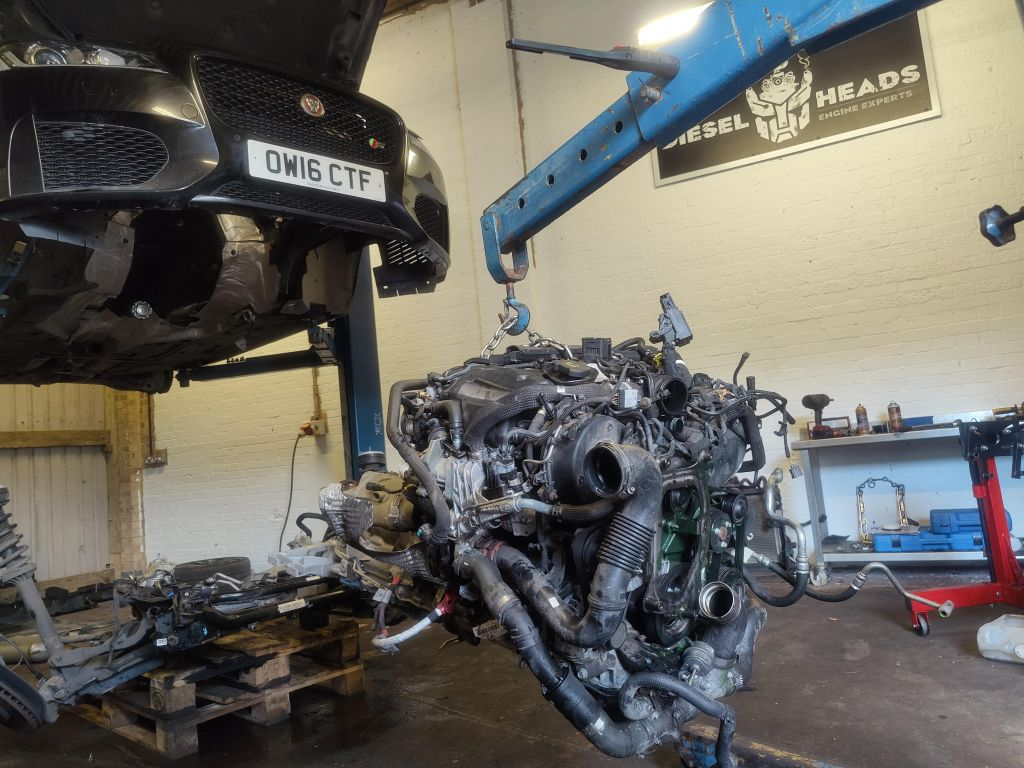 jaguar engine replacement
