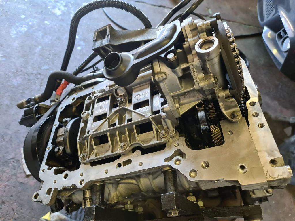 bmw 520d engine rebuild