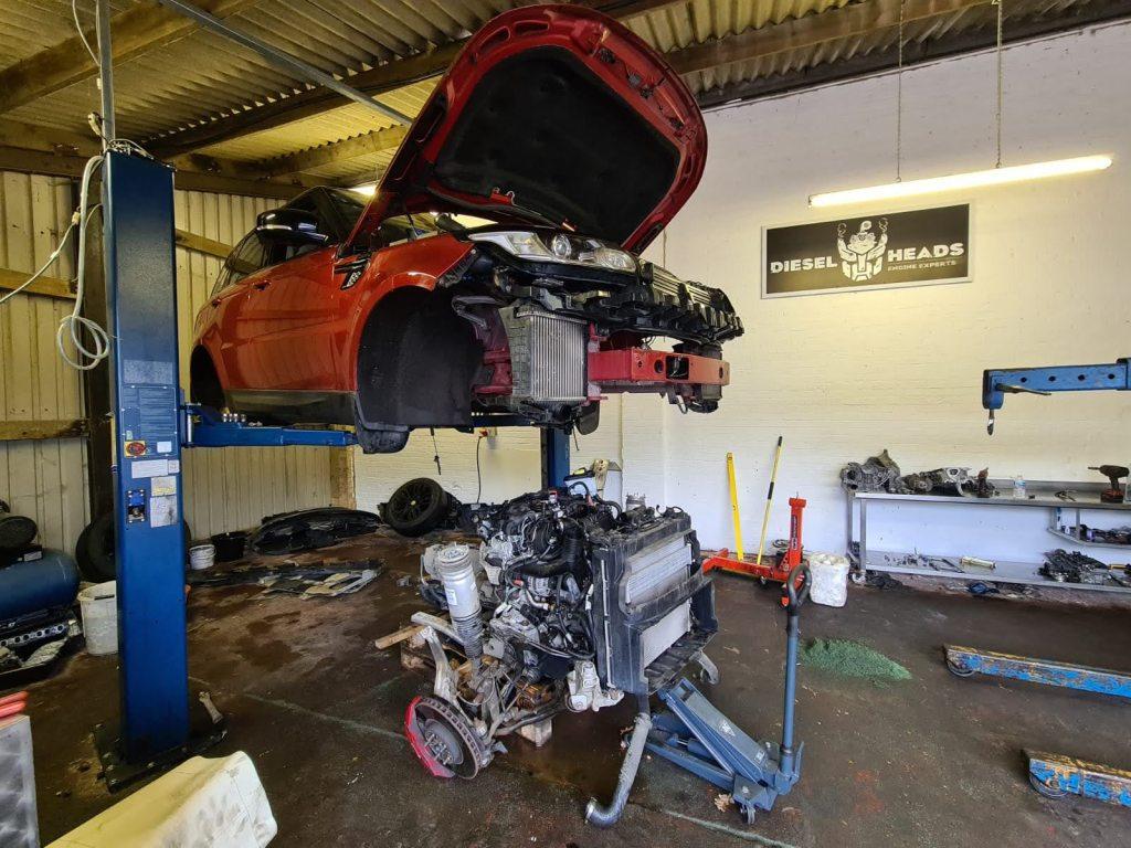 range rover sport engine rebuilds
