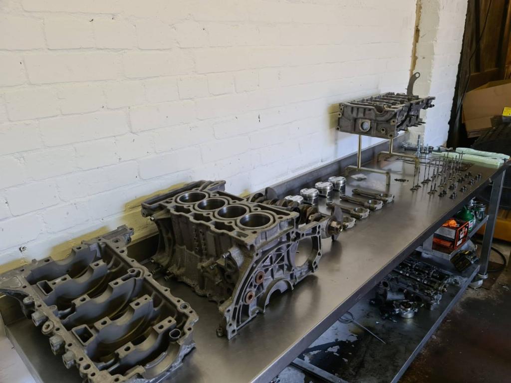 bmw mini engine rebuild