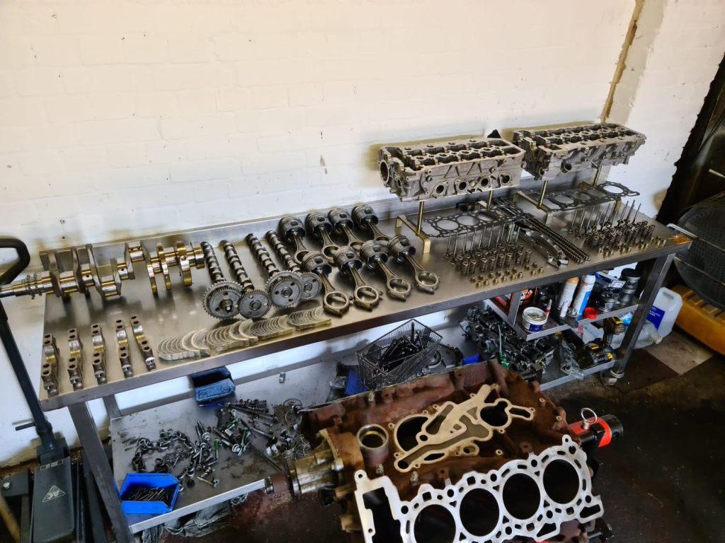 3.6 tdv8 engine rebuild