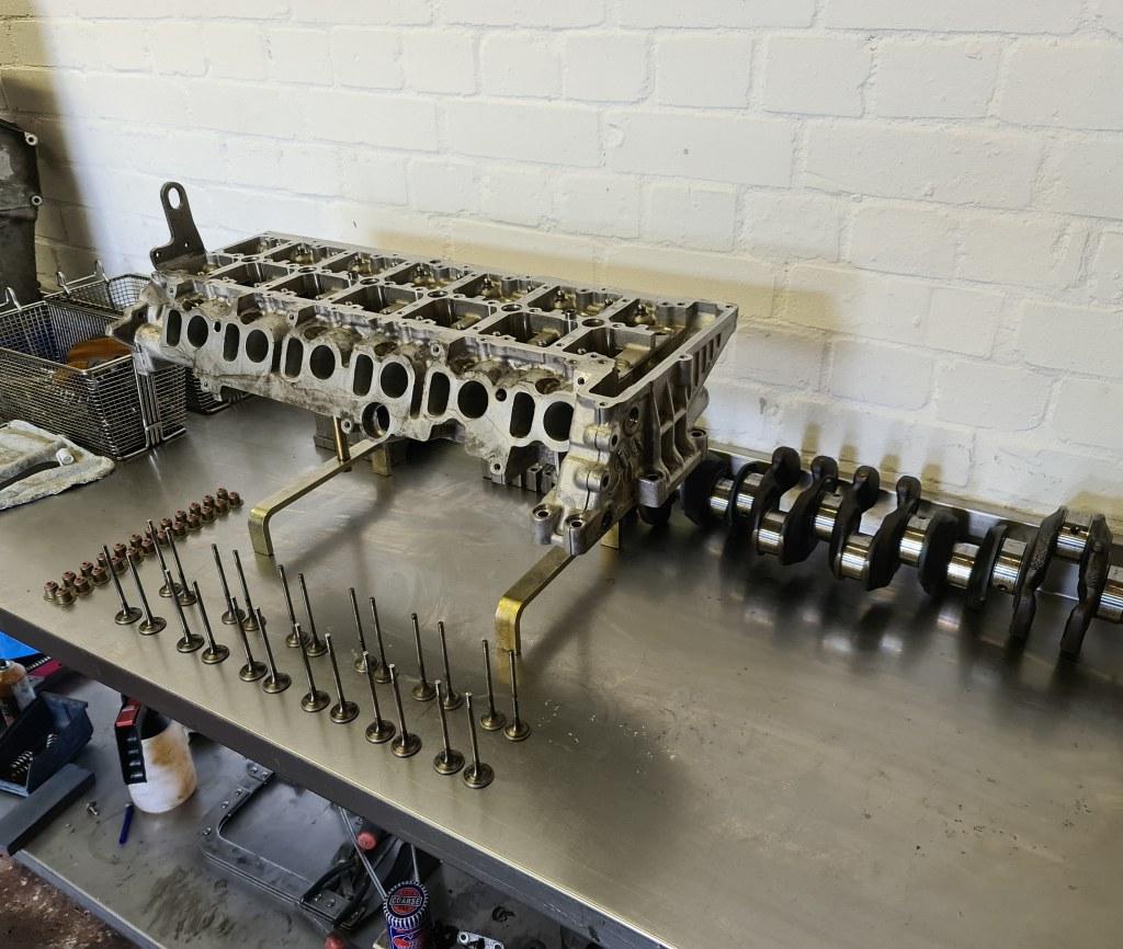 bmw x5 3.0 engine rebuild