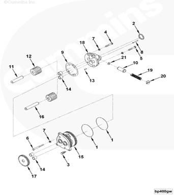 Продажа запасных частей cummins KTTA 19-C525, электронный