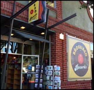 """Brokeland Records,"" aka Diesel Books, Oakland CA (Sept. 2012)"