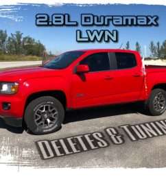 from the factory the 2 8l lwn duramax is a remarkably stout and impressive power plant for the 2015 2017 colorado and canyon trucks  [ 1024 x 768 Pixel ]