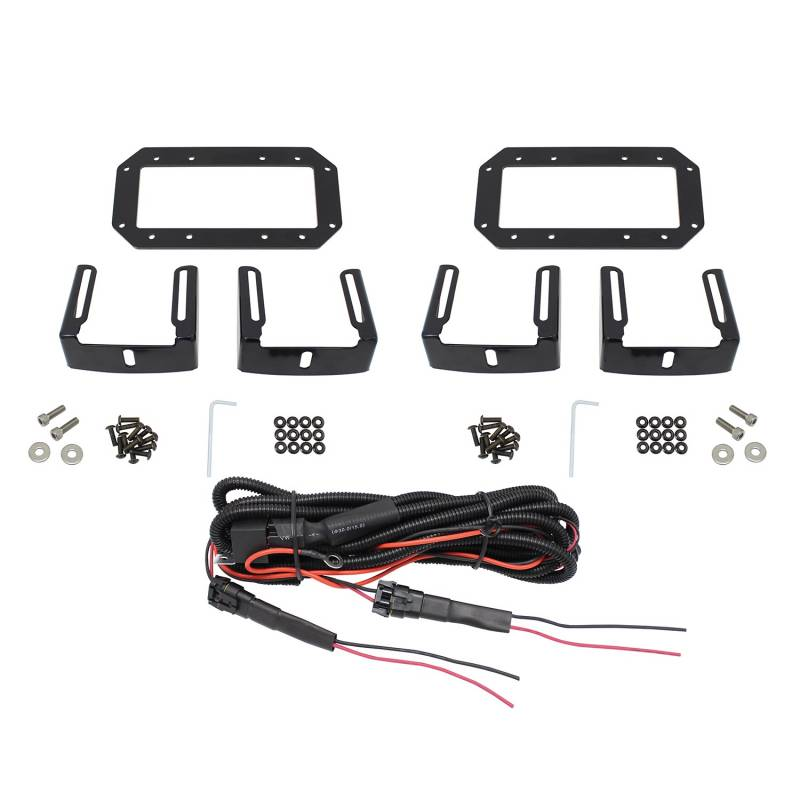 Westin, HDX Stealth Flush Mount LED Light Bar Kit, 57-0025