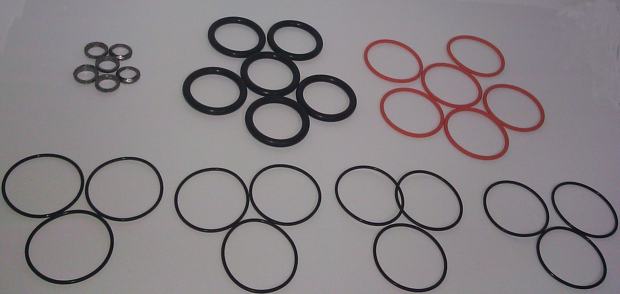 hight resolution of injector o ring set detroit diesel series 60 engine non egr