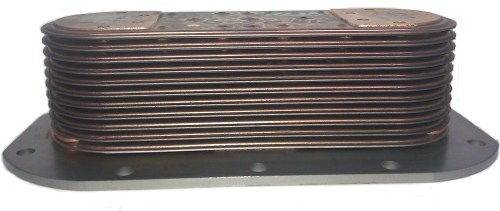 small resolution of oil cooler detroit diesel series 60 engine non egr
