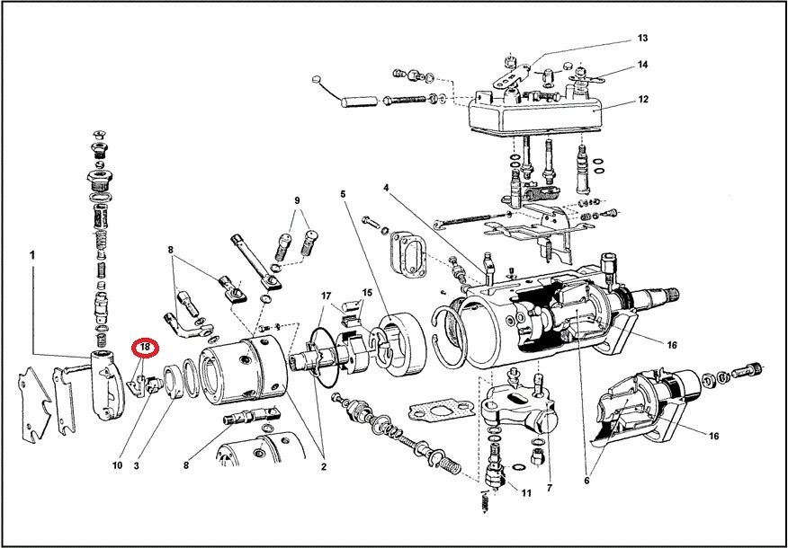 Ford 4600 Tractor Parts Diagram