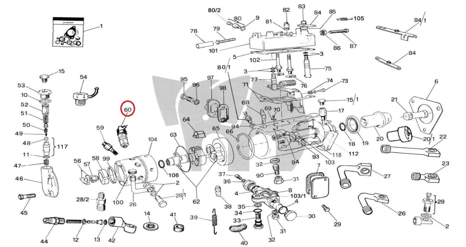Cav Fuel Shut Off Valve 620a 12v