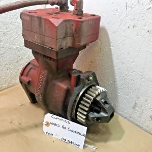 Cummins ISX15 1 CYLINDER AIR COMPRESSOR 3689649 OEM