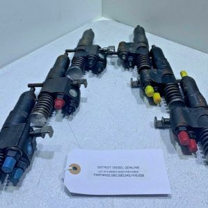 (LOT OF 6) DIESEL INJECTOR CORES N55 S60 S80 545 HV6 658 READY TO SHIP