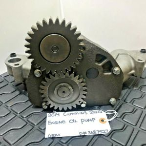 Cummins ISX15 Diesel Engine Oil Pump 3687527 OEM